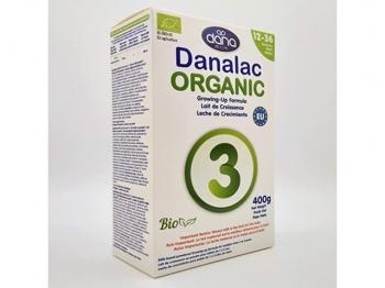 Danalac ORGANIC 3, ekološka nadaljevalna formula