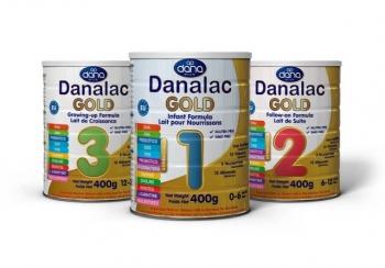 Danalac GOLD 3 nadaljevalna formula za dojenčke in majhne otroke