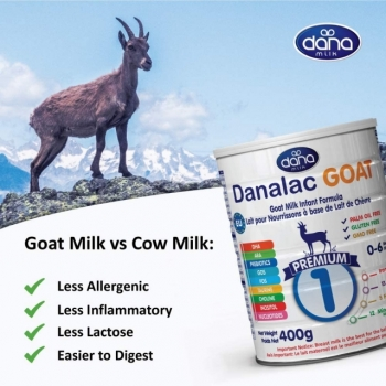 Danalac GOAT 1 začetna formula na osnovi kozjega mleka