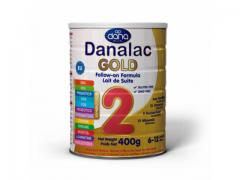 Danalac GOLD 2 nadaljevalna formula za dojenčke in majhne otroke