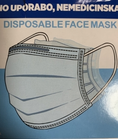 Troslojne osebne higienske maske