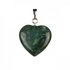 Ogrlica s kristalnim obeskom srce