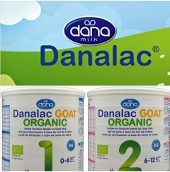 Danalac GOAT ORGANIC 1, začetna formula za dojenčke na osnovi ekološkega kozjega mleka