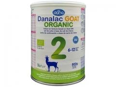 Danalac GOAT ORGANIC 2, nadaljevalna formula za dojenčke na osnovi ekološkega kozjega mleka